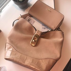 Coach purse and wallet combo